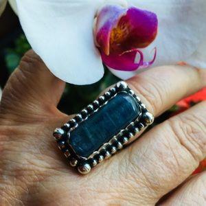 Jewelry - NWOT Blue Kyanite Sterling Silver ring - OOAK